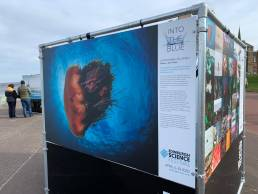 Edinburgh outdoor exhibition print